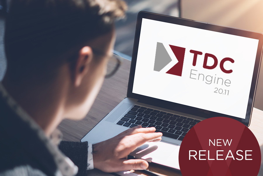 Neues Release: TDC Engine 20.11
